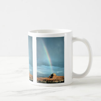 Rainbow over Canyonlands National Park, Utah, U.S. Mugs
