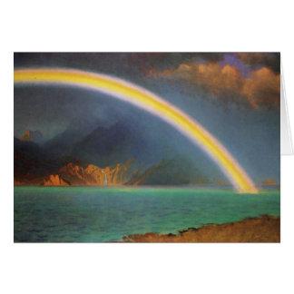 Rainbow over Jenny Lake Card