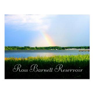 Rainbow over Ross Barnett Reservoir Postcard