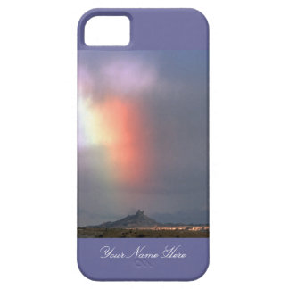 Rainbow over Shiprock, New Mexico Barely There iPhone 5 Case