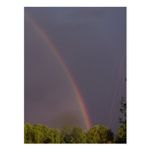 Rainbow Over Stark City Postcards