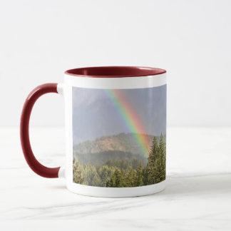 Rainbow Over the Mountains Mug