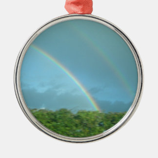 Rainbow over Warwickshire Ornaments