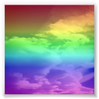 Rainbow Overlay Photo Print