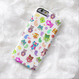Rainbow owls barely there iPhone 6 case