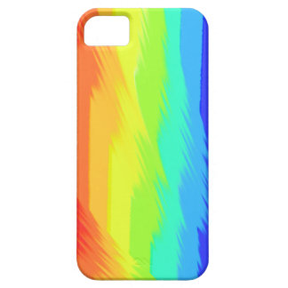 rainbow paint pattern iphone5 case