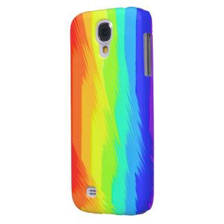 rainbow paint pattern samsung galaxy4 case galaxy s4 cover