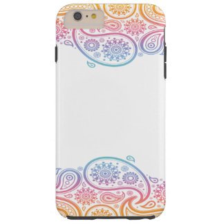Rainbow Paisley Cell Phone Case for iPhone 6/6s