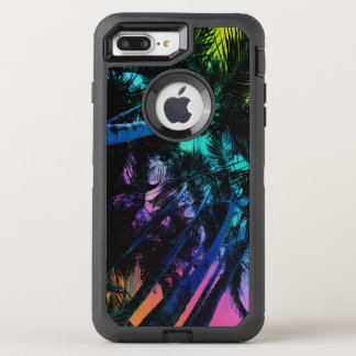 Rainbow Palm Trees OtterBox Defender iPhone 8 Plus/7 Plus Case