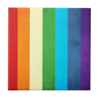 Rainbow Pants Unicorn Ceramic Tile