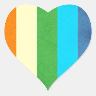 Rainbow Pants Unicorn Heart Sticker