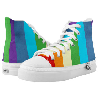Rainbow Pants Unicorn High Tops