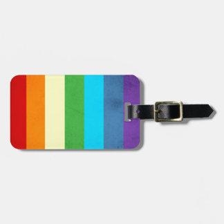Rainbow Pants Unicorn Luggage Tag