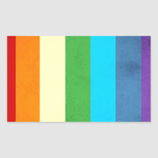 Rainbow Pants Unicorn Rectangular Sticker