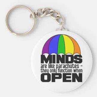 Rainbow Parachute keychain