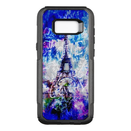Rainbow Parisian Dreams of the Ones that Love Us OtterBox Commuter Samsung Galaxy S8+ Case