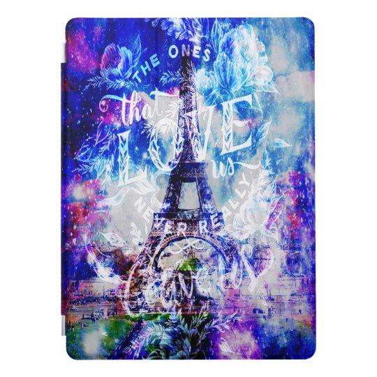 Rainbow Parisian Dreams of the Ones that Love UsTh iPad Pro Cover