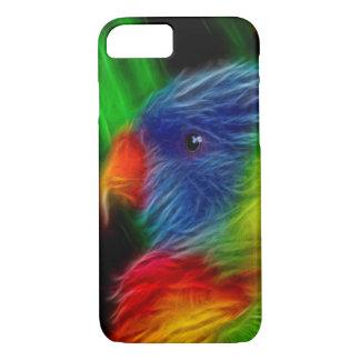 Rainbow  Parrot iPhone 7 Case
