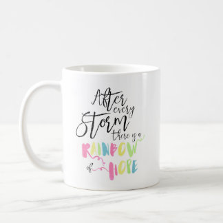Rainbow Pastel Watercolor Rainbow Of Hope Mug