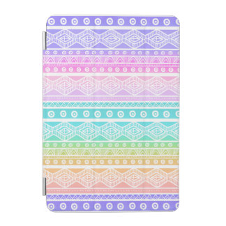 Rainbow Pastels Girly Aztec Tough iPad Mini Case iPad Mini Cover