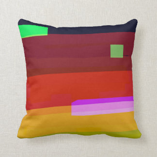 Rainbow Patches Cushion