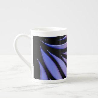 Rainbow Pattern Candy Black Tea Cup