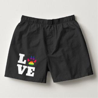 Rainbow paw boxers