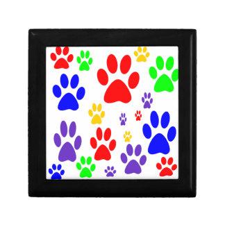rainbow paws gift box