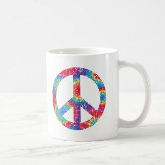 Rainbow Peace Sign Hippie Mug - Gr8 Christmas Gift