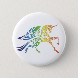 Rainbow Pegasus Merchandise 6 Cm Round Badge