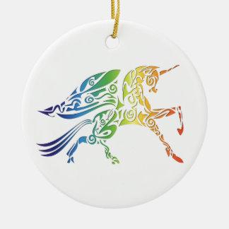 Rainbow Pegasus Merchandise Ceramic Ornament