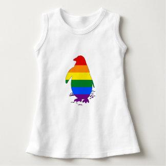 Rainbow Penguin Dress