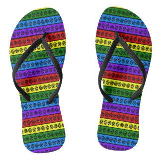 Rainbow Pentacles Thongs