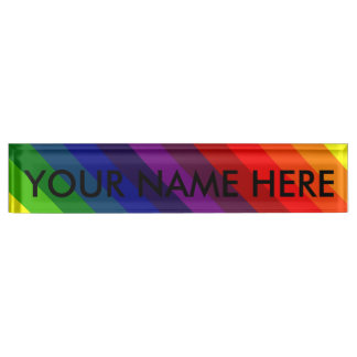 RAINBOW PERFECTION! ~ NAMEPLATE