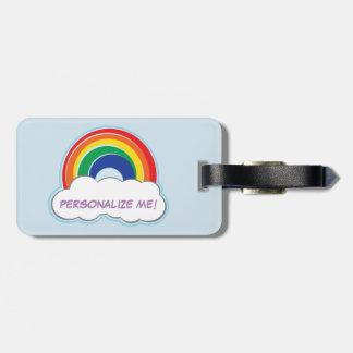 RAINBOW | personalized luggage tag