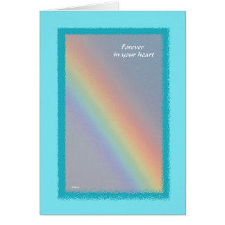 Rainbow Pet Sympathy Card