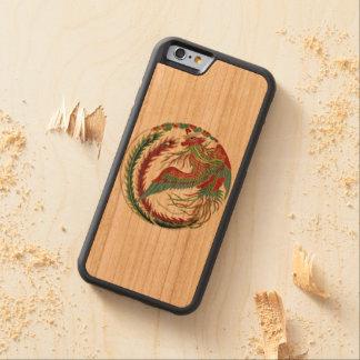 """Rainbow Phoenix Phone case"" Carved Cherry iPhone 6 Bumper Case"