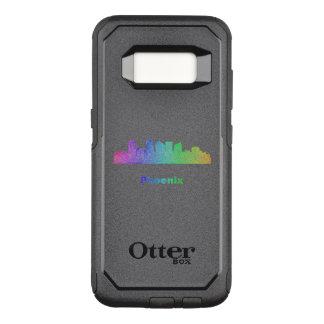 Rainbow Phoenix skyline OtterBox Commuter Samsung Galaxy S8 Case