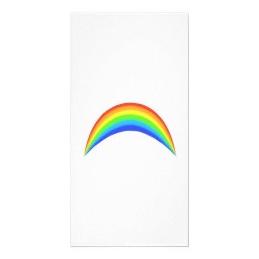 Rainbow Photo Card
