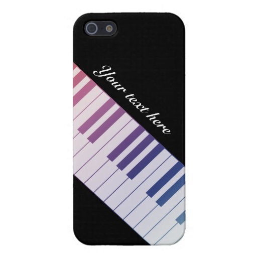 Rainbow Piano Keys iPhone 5 Case