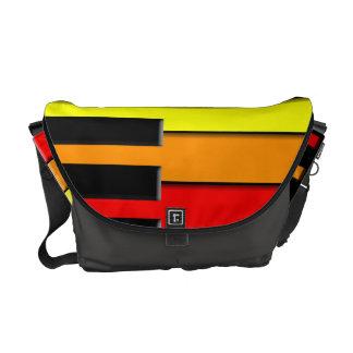 Rainbow Piano Messenger Bag