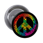 Rainbow Pieces of Peace Badge