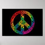 Rainbow Pieces of Peace Print