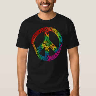 Rainbow Pieces of Peace T-shirts