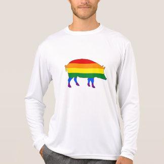 Rainbow Pig T-Shirt