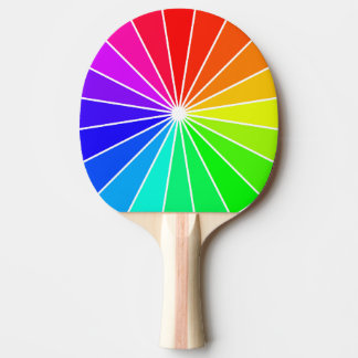 Rainbow Ping Pong Bright Colorful Fun Sports Gifts