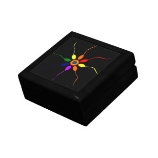 Rainbow Pinwheel Box Small Square Gift Box