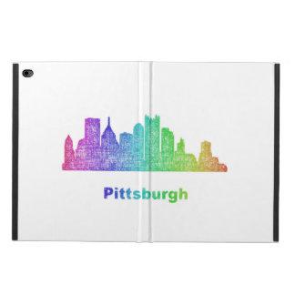 Rainbow Pittsburgh skyline