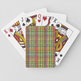 rainbow plaid cards