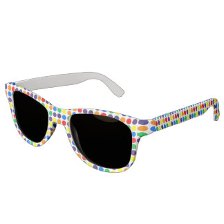 Rainbow Polka Dots Sunglasses
